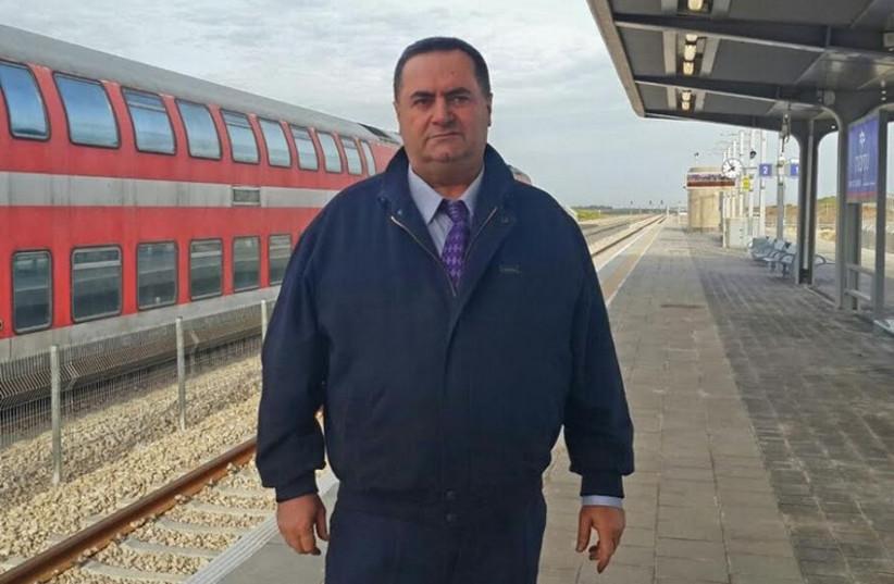 Transportation Minister Yisrael Katz (photo credit: Courtesy)