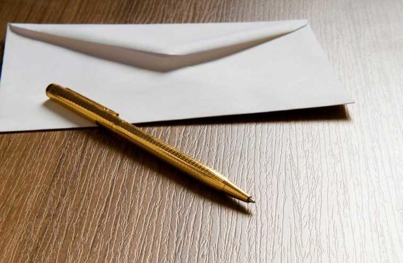 Envelope (photo credit: ING IMAGE/ASAP)