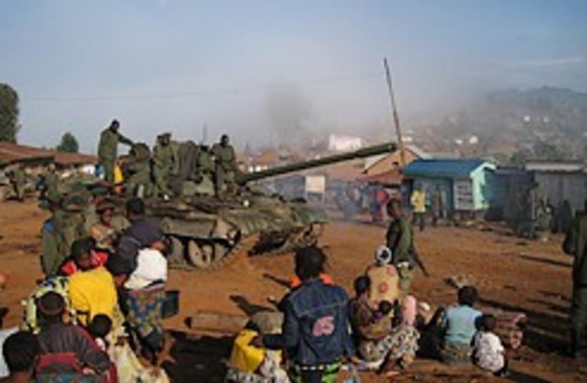 congo tank civil war 248.88 (photo credit: )