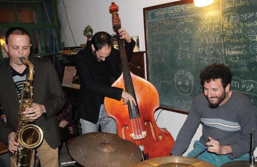 Food and jazz in Hamarkia (photo credit: BARRY DAVIS)