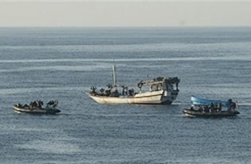 somalia boats pirates 248 (photo credit: AP ( British Ministry of Defence))