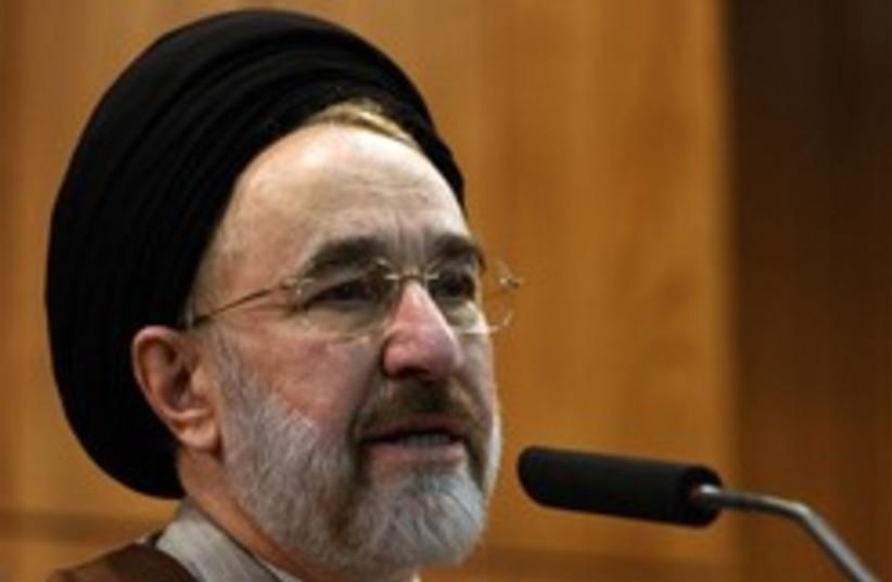 khatami 248 88 (photo credit: AP)