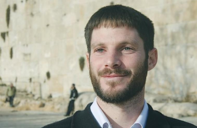 Bezalel Smotrich. (photo credit: Courtesy/Regavim)