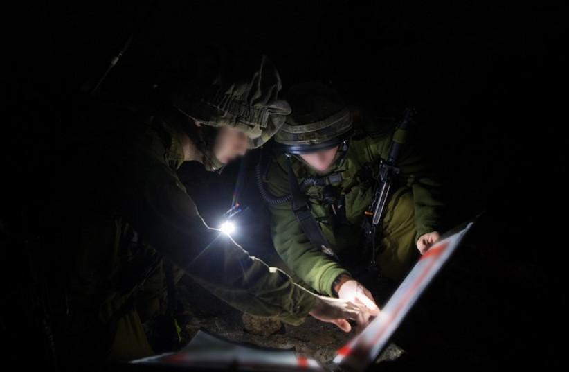 IDF intelligence soldiers (illustrative)  (photo credit: IDF SPOKESMAN'S UNIT)