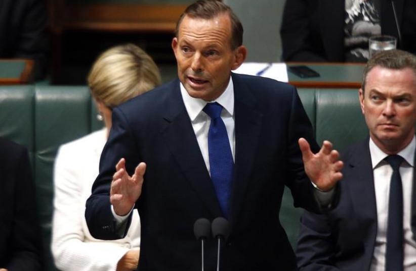 Australian Prime Minister Tony Abbott (photo credit: REUTERS)