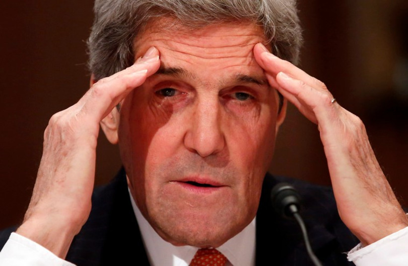 U.S. Secretary of State John Kerry (photo credit: REUTERS)