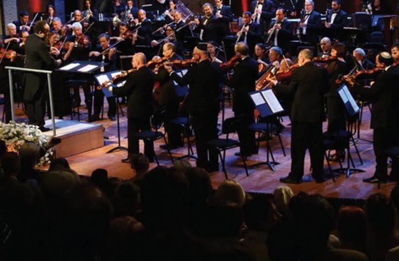 The Jerusalem Symphony Orchestra and Andres Mustonen (photo credit: SASSON TIRAM)