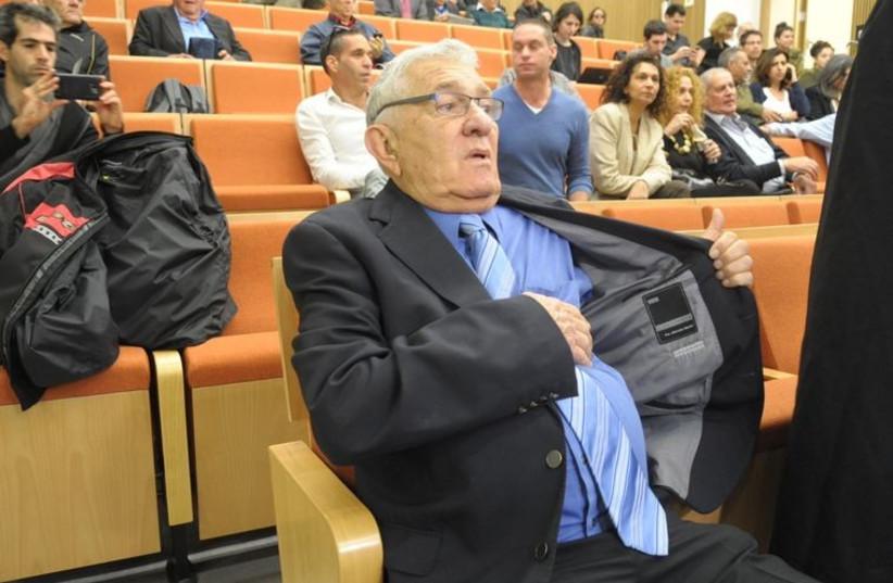 Former Ramat Gan mayor Zvi Bar (photo credit: AVSHALOM SASSONI)