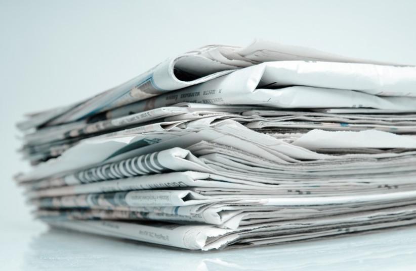Newspapers [Illustrative]  (photo credit: INGIMAGE)