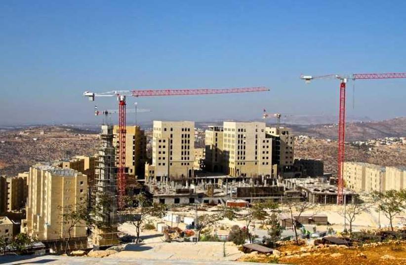 The city of Rawabi (photo credit: TOVAH LAZAROFF)