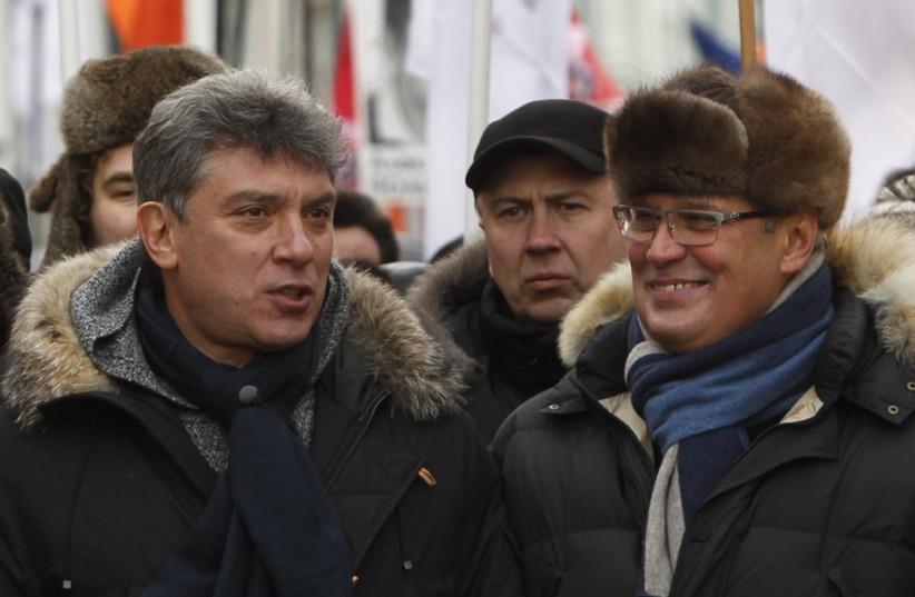 Opposition leader Boris Nemstsov (photo credit: REUTERS)
