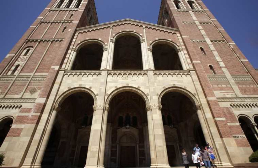 UCLA campus  (photo credit: REUTERS)