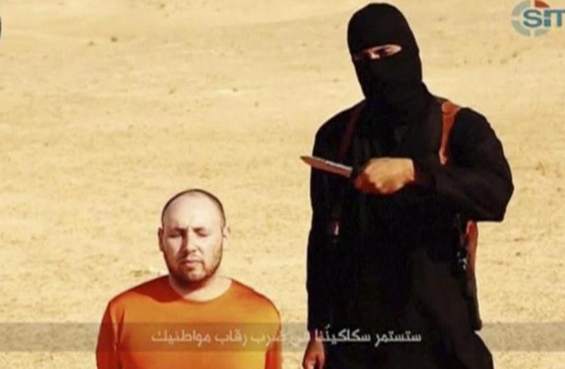 """Jihadi John,"" the Briton named Mohammed Emwazi (photo credit: REUTERS)"