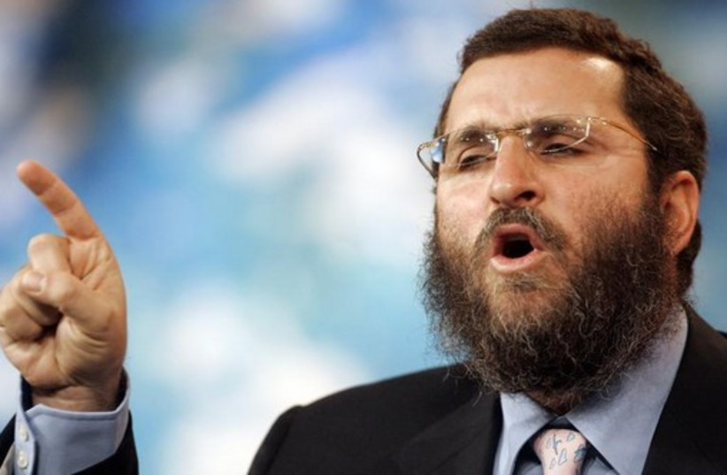 Rabbi Shmuley Boteach (photo credit: REUTERS)