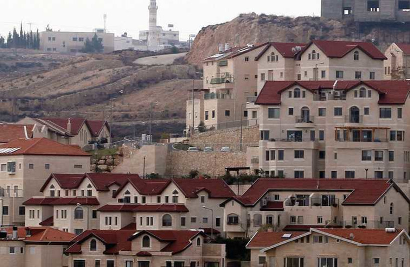 HOUSES IN the Jewish community of Efrat (photo credit: REUTERS)