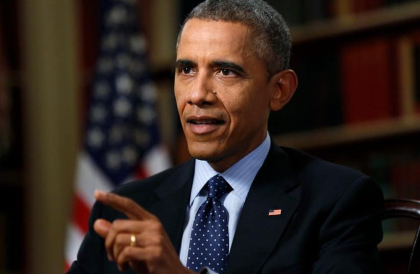 U.S. President Barack Obama (photo credit: REUTERS)