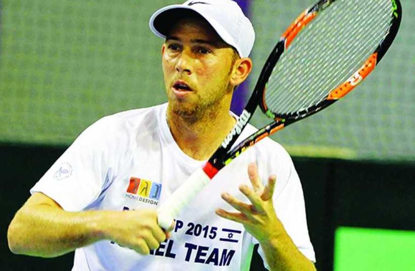 Israeli tennis star Dudi Sela (photo credit: ISRAEL TENNIS ASSOCIATION)