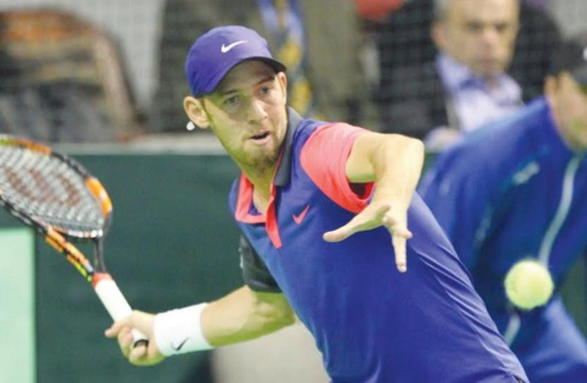 Dudi Sela (photo credit: ISRAEL TENNIS ASSOCIATION)
