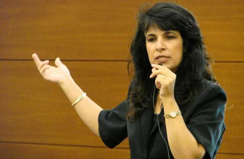 La dynamique avocate Nitsana Darshan-Leitner (photo credit: SHOURAT HADIN)