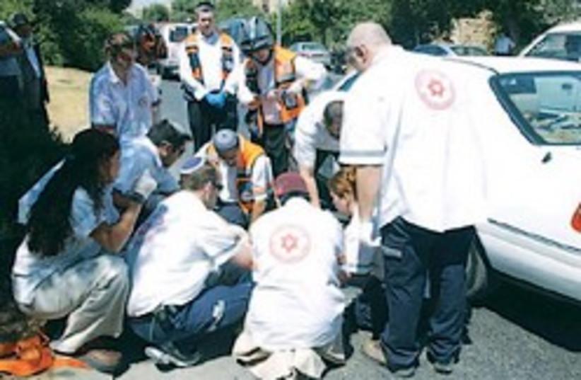 medics accident 248.88 AJ (photo credit: Ariel Jerozolimski)