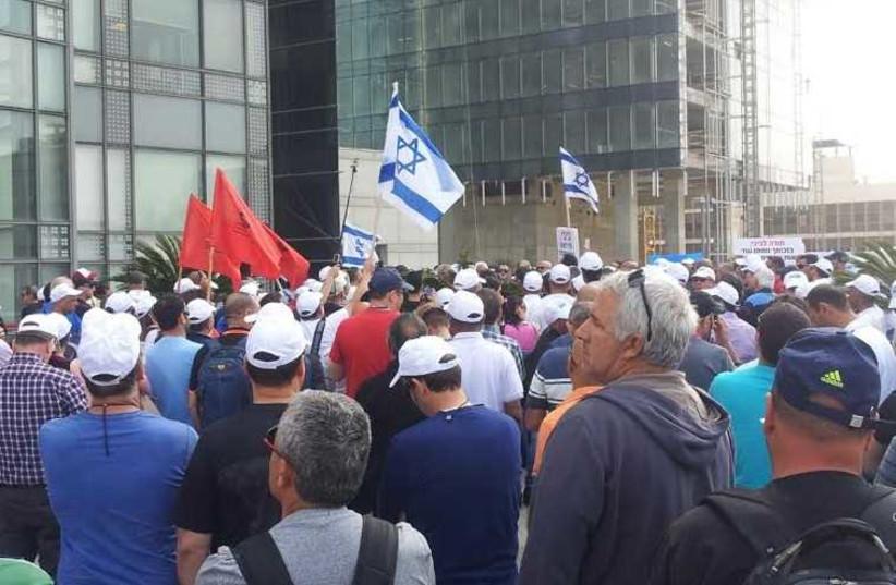 Histadrut protest [File] (photo credit: Courtesy)
