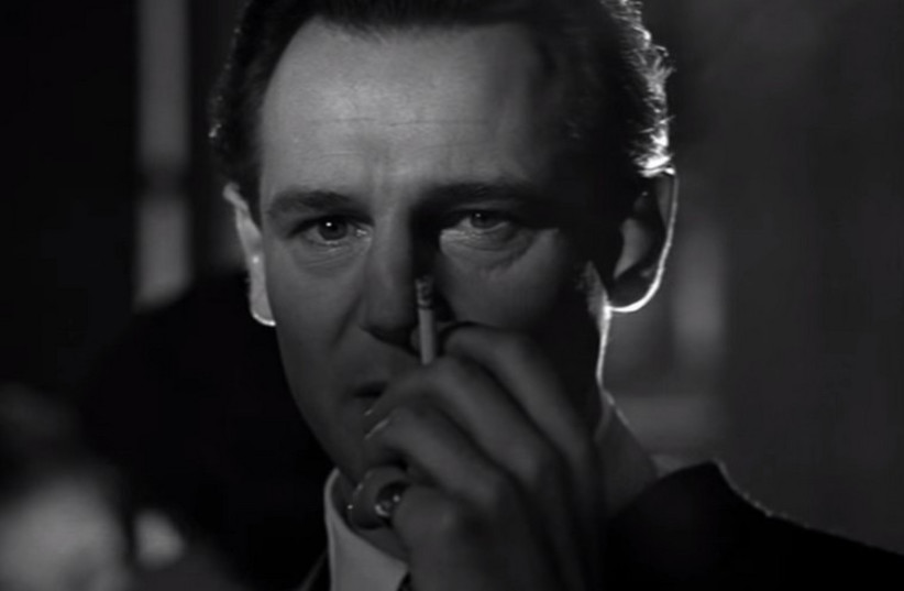 Oskar Schindler as portrayed by Liam Neeson in Schindler's List (photo credit: UNIVERSAL PICTURES)