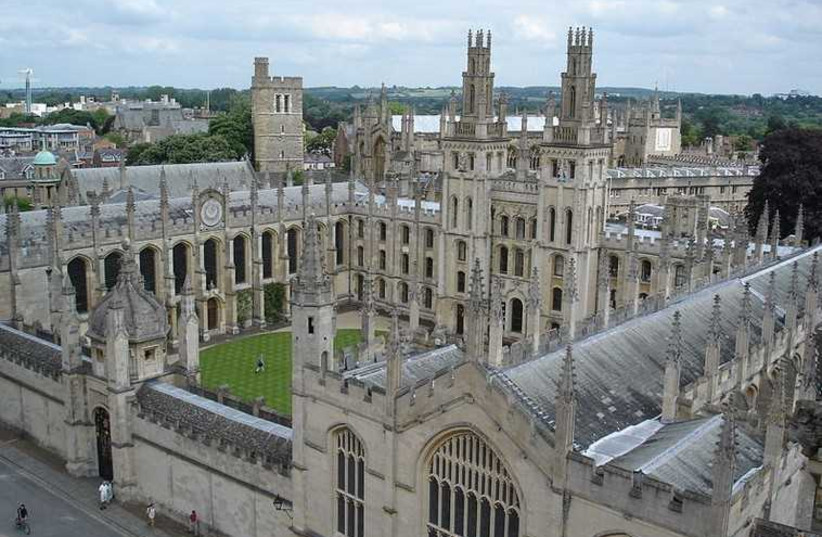 Oxford, All Souls College (photo credit: Wikimedia Commons)