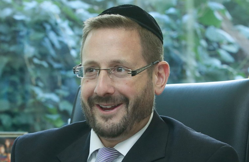 rabbi dov lipman (photo credit: MARC ISRAEL SELLEM)
