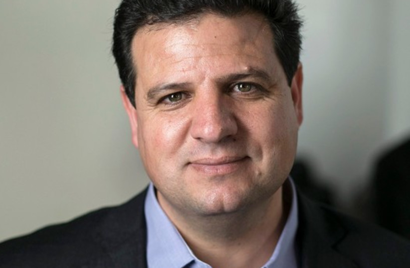 Ayman Odeh, head of the Joint Arab List (photo credit: REUTERS)