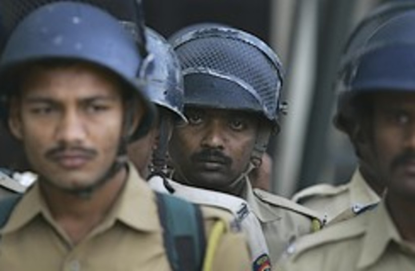 Indian paramilitary troopers 248.88 (photo credit: AP)