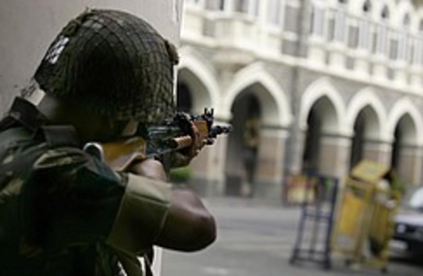 Indian commando takes aim 248.88 (photo credit: AP)