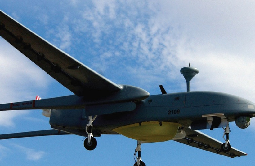 THIS HERON drone is of a type recently featured in Northern Command drills aimed at improving responses to attempted infiltrations by terrorists. (photo credit: Wikimedia Commons)
