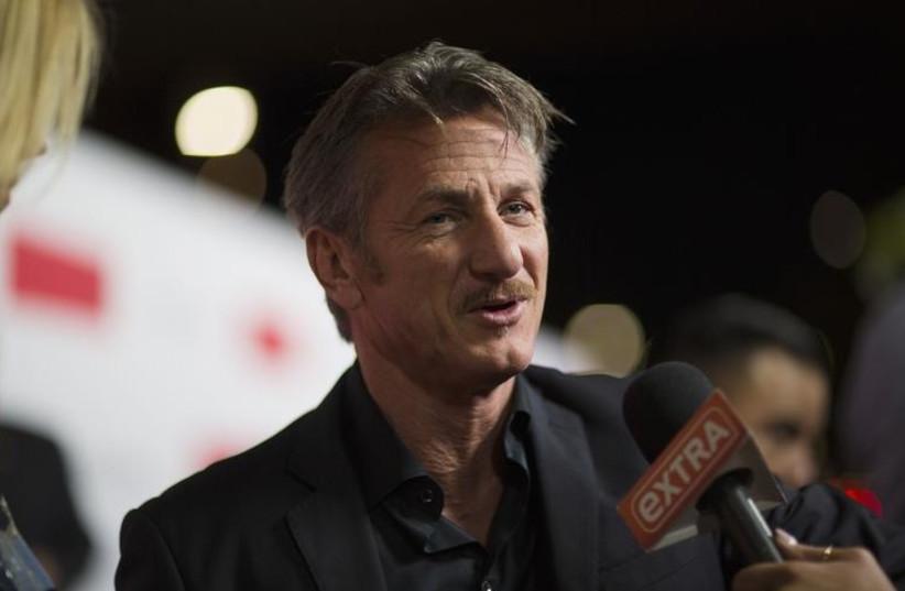 Sean Penn. (photo credit: REUTERS)