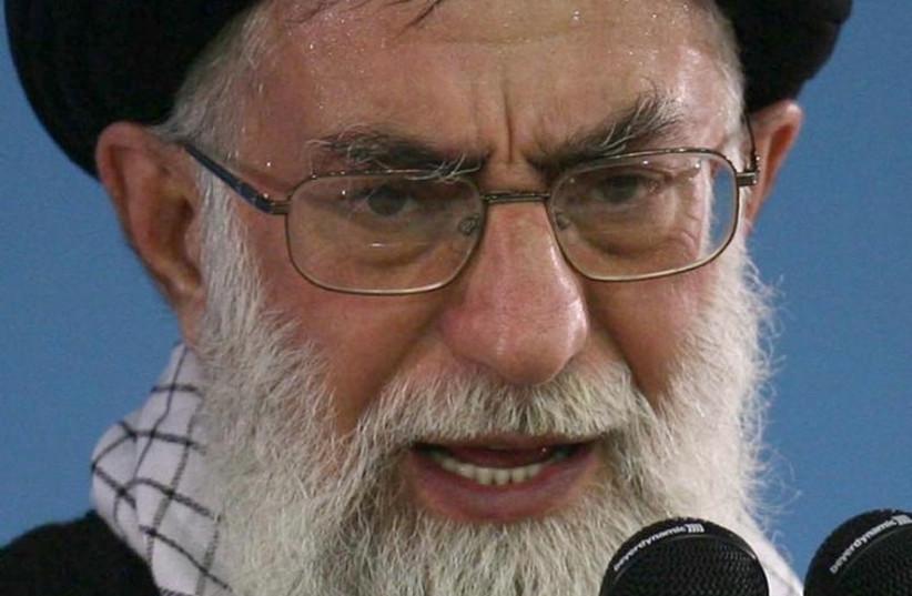 Iranian Supreme Leader Ayatollah Ali Khamenei (photo credit: REUTERS)