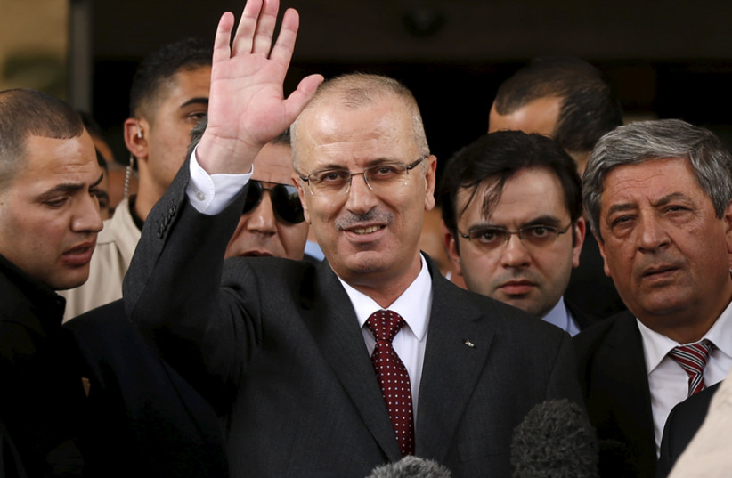 Hamdallah (photo credit: REUTERS)