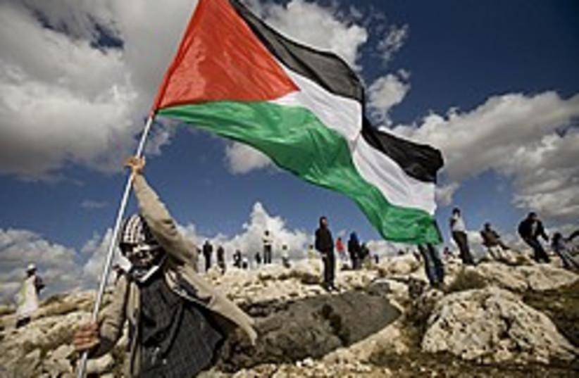 Palestinian flag 248.88 (photo credit: AP)