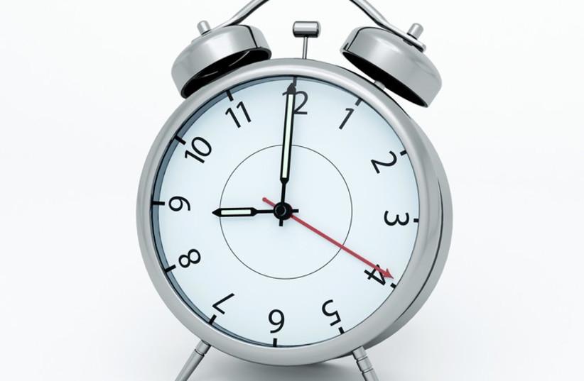Clock (photo credit: INGIMAGE)