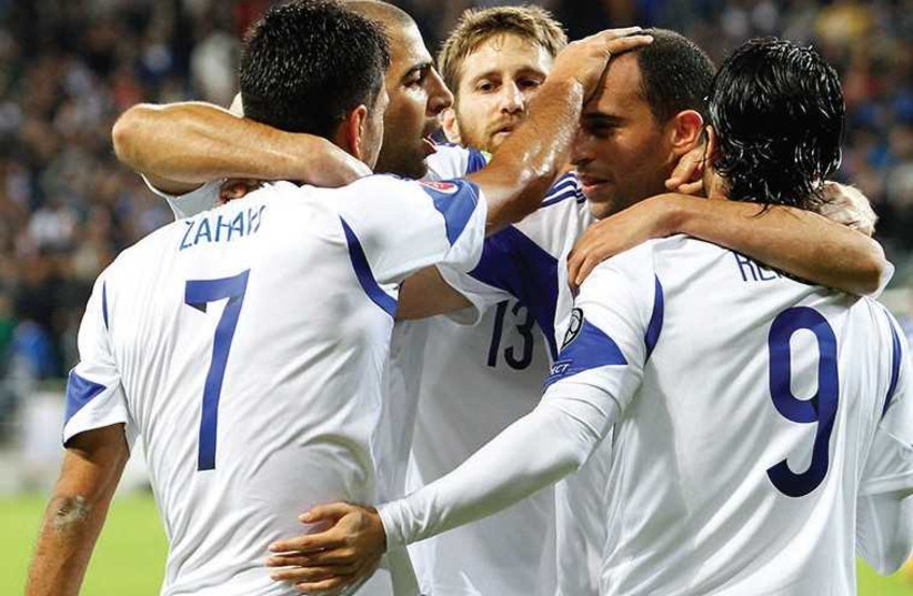 football Israel (photo credit: ERAN LUF)