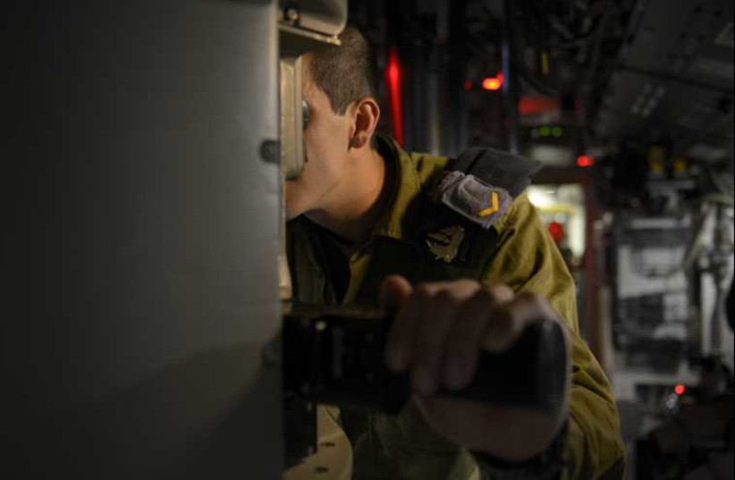 Dolphin submarine  (photo credit: IDF SPOKESMAN'S UNIT)