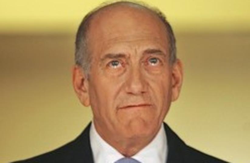olmert says fuck 248 88 (photo credit: AP)