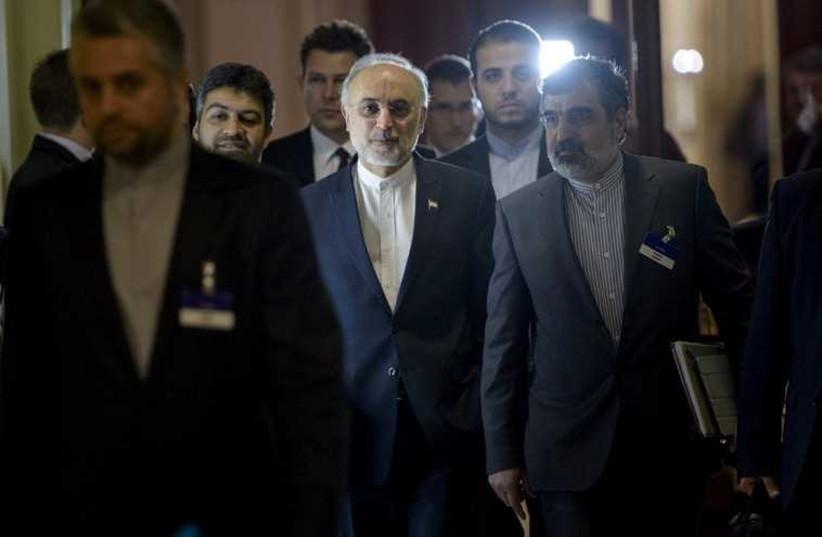 Iran negotiations (photo credit: REUTERS)