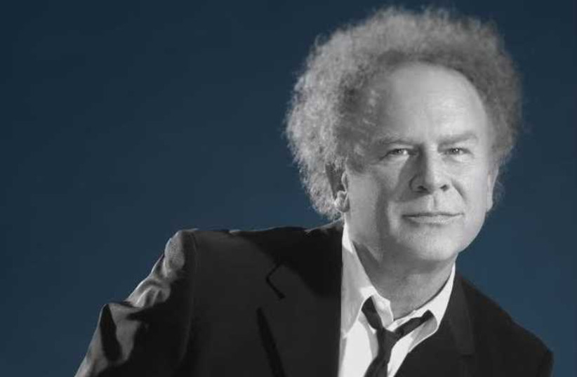 American singer Art Garfunkel (photo credit: Courtesy)