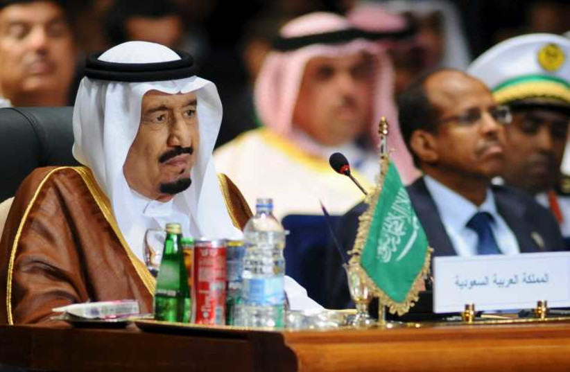 Saudi King Salman  (photo credit: REUTERS)