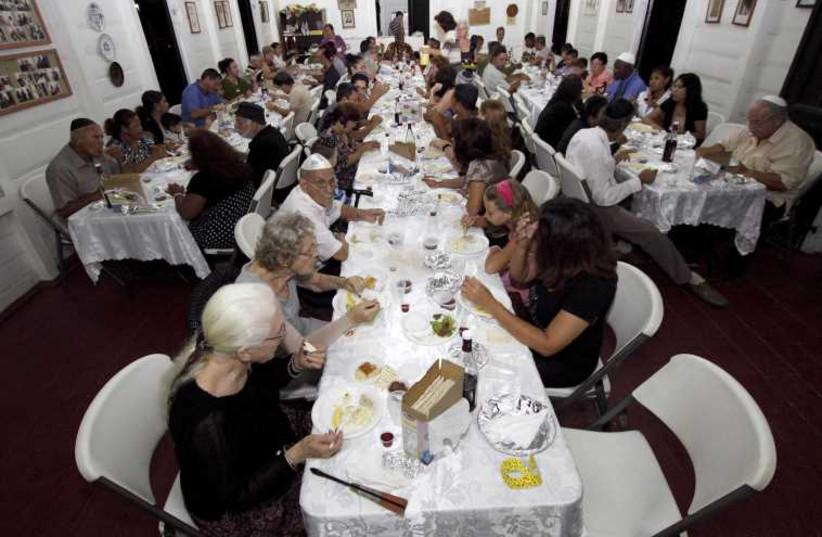 Passover seder (photo credit: REUTERS)