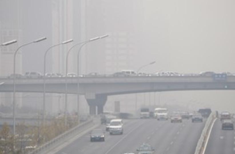 pollution (photo credit: AP)
