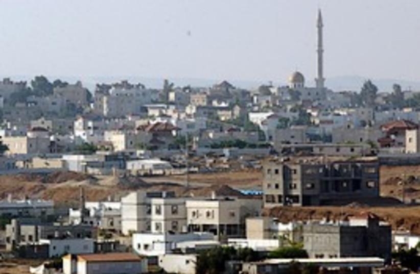 rahat city view 298 aj (photo credit: Ariel Jerozolimski )