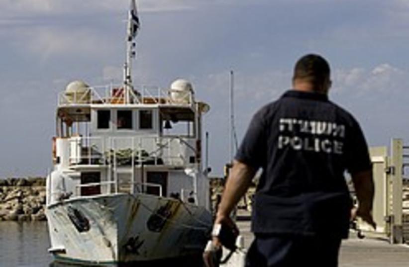 gaza boat jaffa 248 88 ap (photo credit: AP)