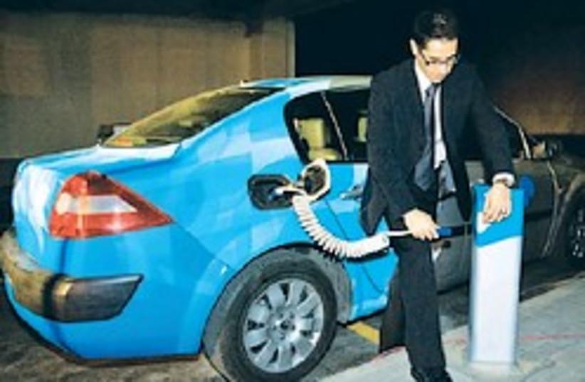 electric car better place 248.88 ap (photo credit: AP)