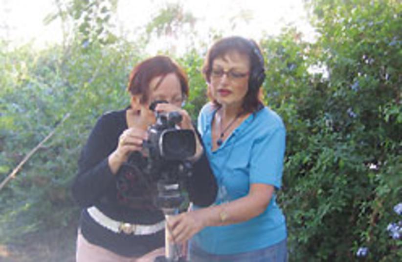 filming 88 248 (photo credit: Maxine Liptzen Dorot)