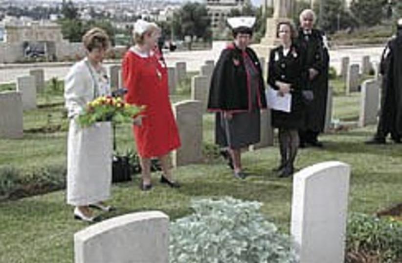 british war cemetery 284.88 (photo credit: Shmuel Bar-Am)